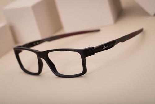 armação oculos ogrife og 506-c masculino com lente sem grau