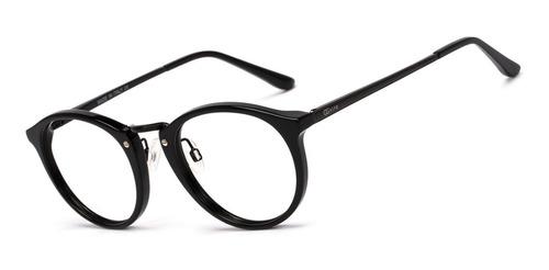 armação oculos ogrife og 514-c masculino redondo original
