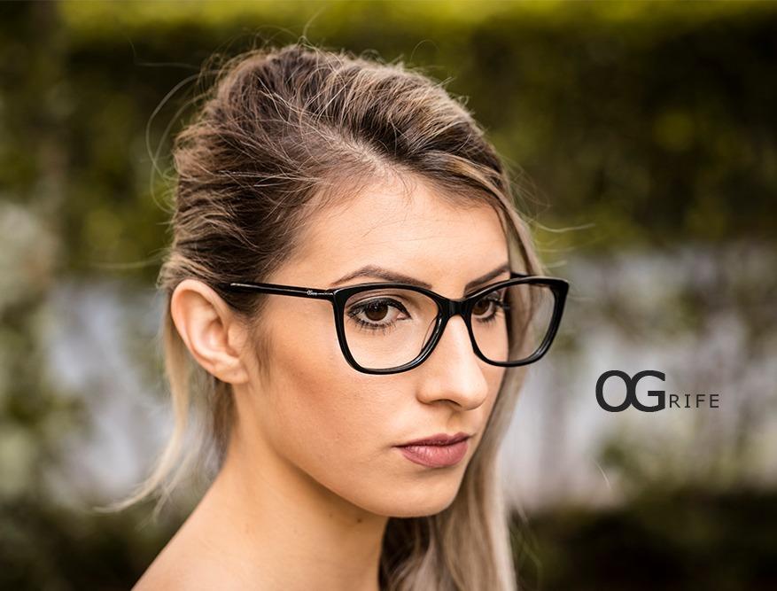 11a1d22f4b370 armação oculos ogrife og 530-c feminino com lente sem grau. Carregando zoom.