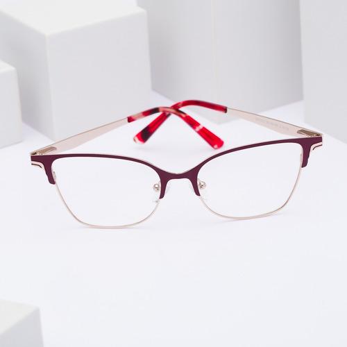 armação oculos ogrife og 765-b feminino com lente sem grau