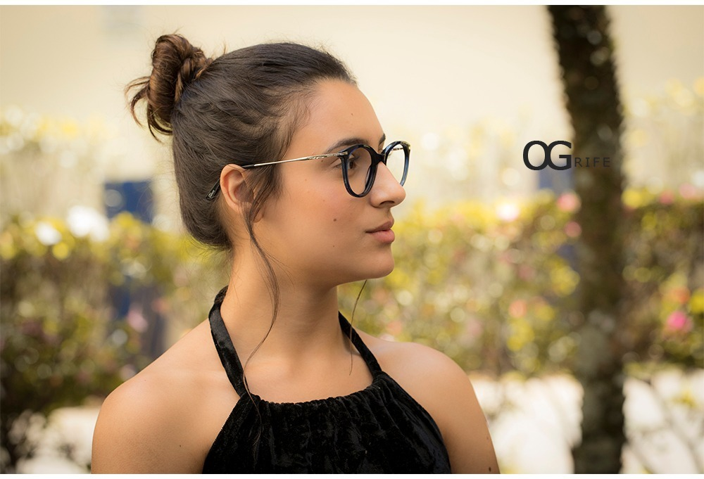 armação oculos ogrife og 778-c feminino com lente sem grau. Carregando zoom. 50c36af4aa