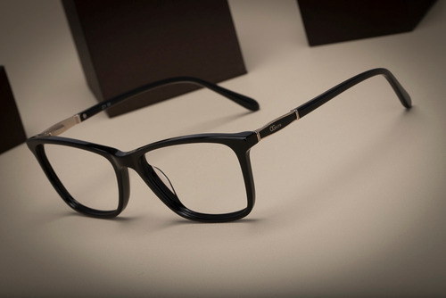 armação oculos ogrife og 986-c feminino com lente sem grau