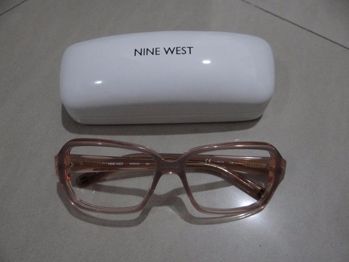 5fb72e0be1245 Armação Óculos Original Nine West (com Case) - R  263,49 em Mercado ...