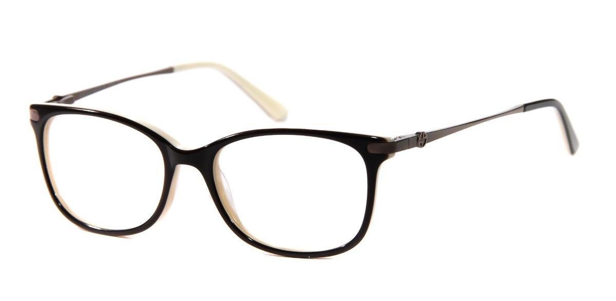 4a4efa726a398 armação óculos p  grau feminino acetato gc1203 original. Carregando zoom.