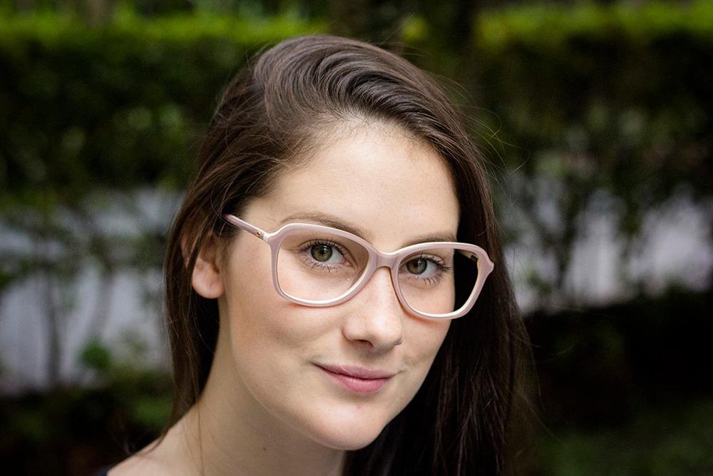 bdeea98f5a7a4 armação oculos p  grau feminino ch56 acetato importado. Carregando zoom.