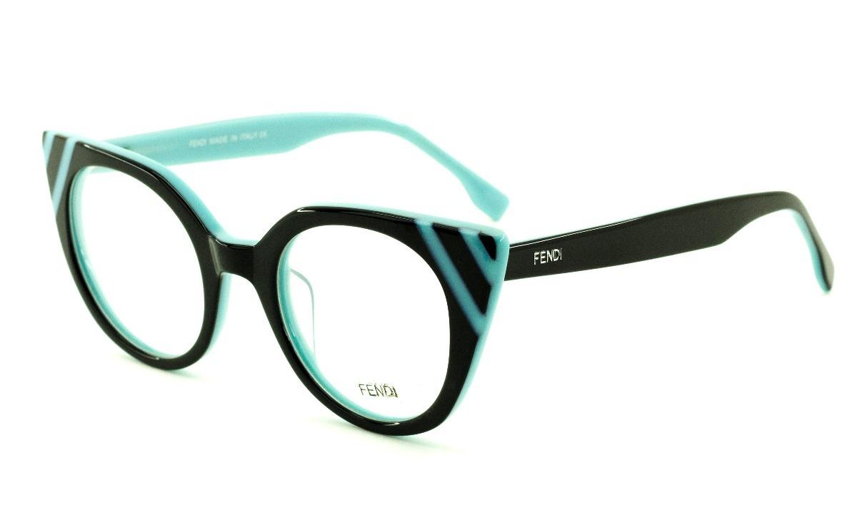2134e9f9c Armação Oculos P/ Grau Feminino F41 Acetato Original - R$ 120,00 em ...