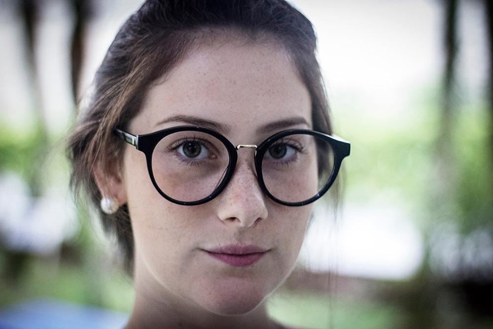 armação oculos p  grau feminino mf-45 acetato redondo grande. Carregando  zoom. ed4dd455de