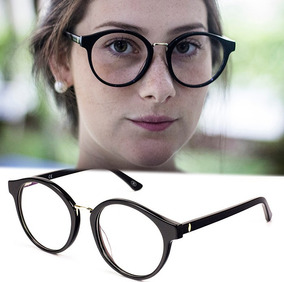 489c1d3aa Oculo Redondo Grau Grande - Óculos no Mercado Livre Brasil