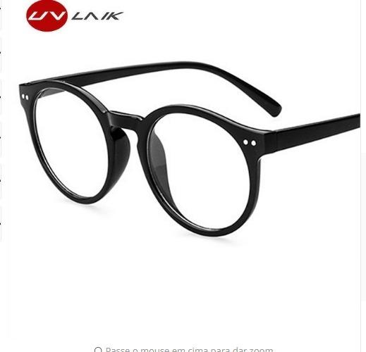 849c95706bc16 Carregando zoom. Armação Óculos P  Grau Masculina Redondo Grande Cor Preta  - R  59