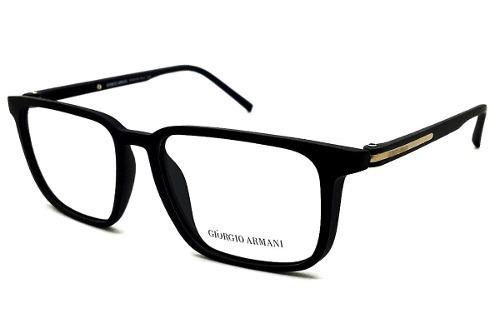 Armação Oculos P  Grau Masculino Giorgio Armani Acetato Ga9 - R  119 ... 4d7d22272a
