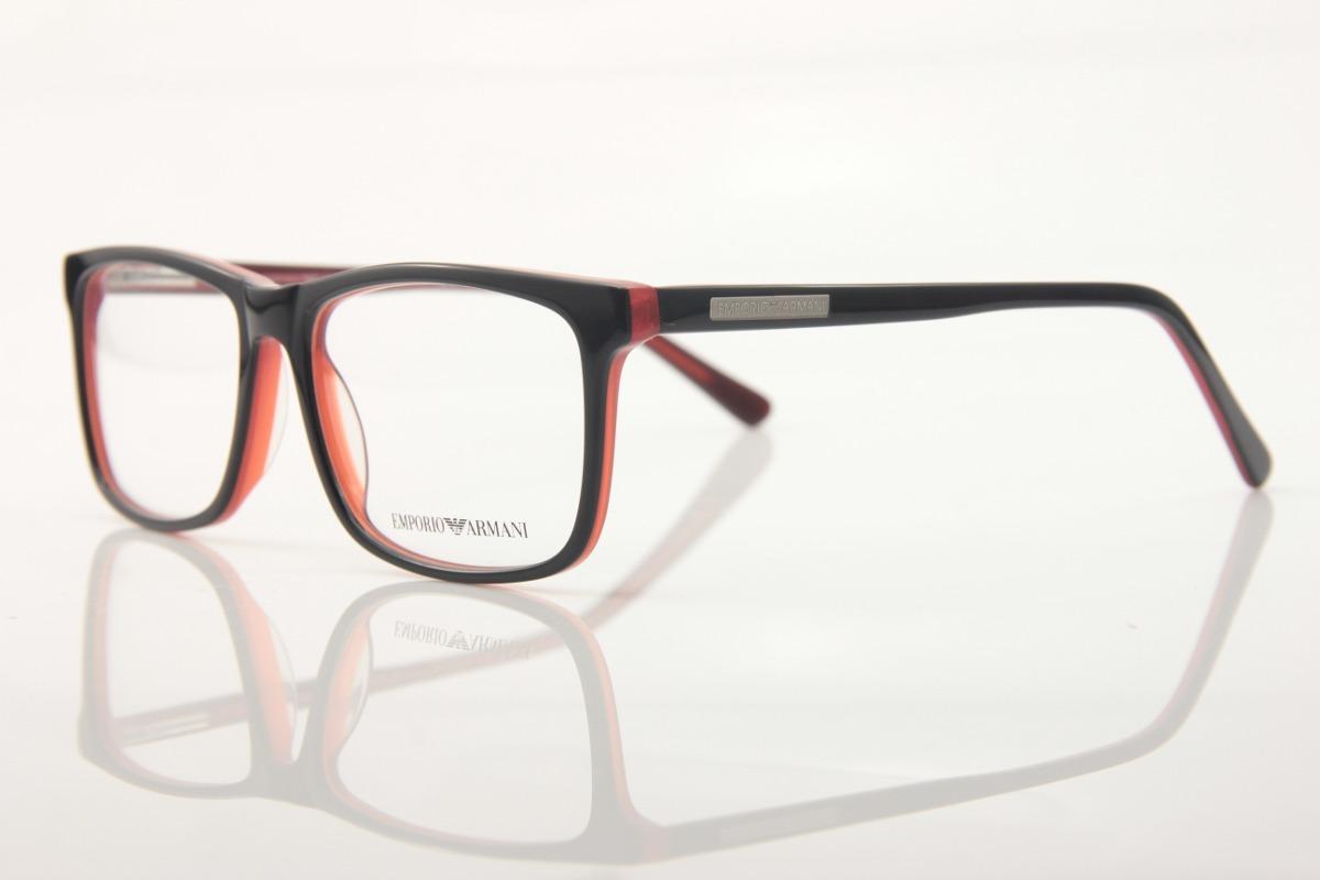0d47b81ec Armação Óculos P/ Grau Unissex Empório Armani 3067 - R$ 127,00 em ...