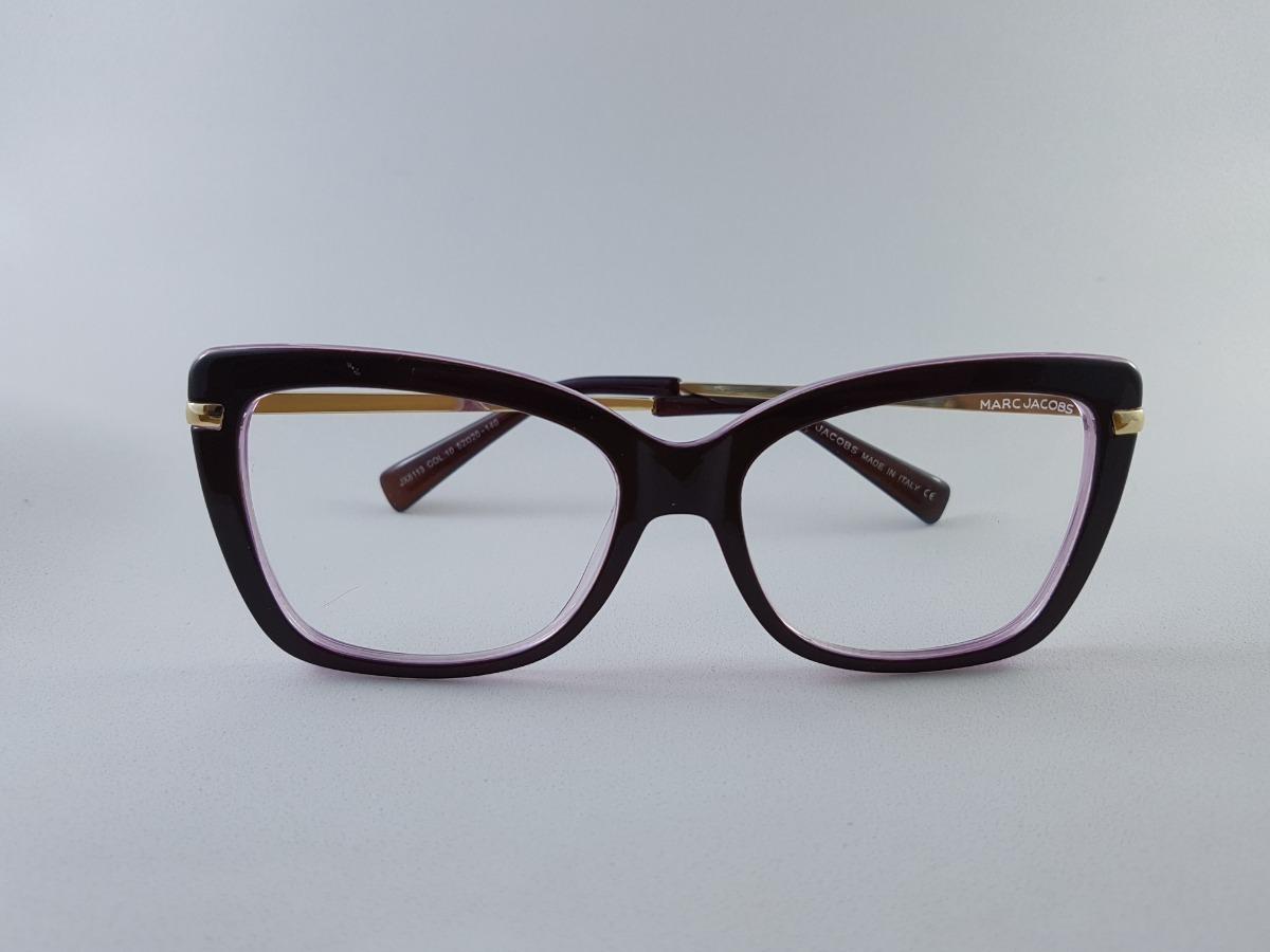9c95cecdb armação oculos para grau feminino vinho c/ pernas dourada. Carregando zoom.