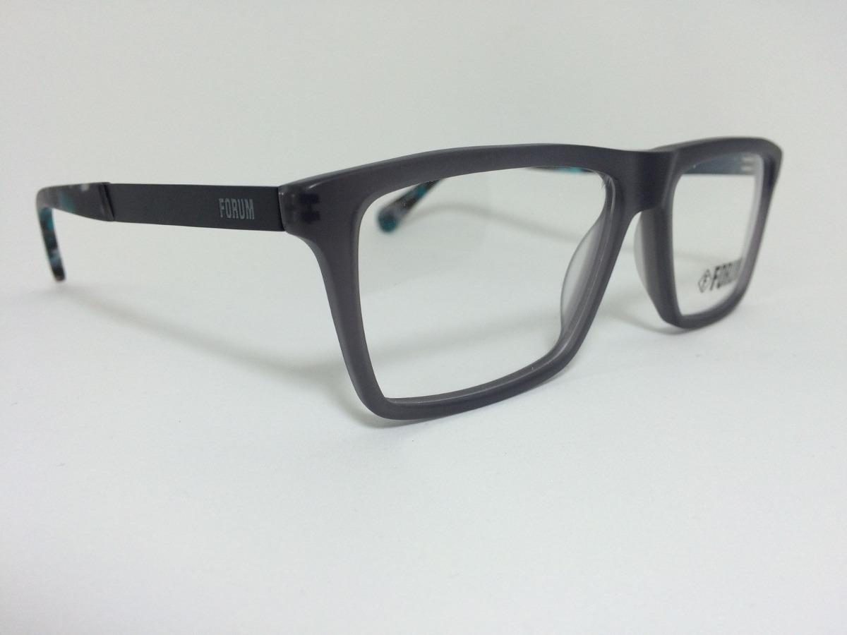 26ef8a0d29e87 armação óculos para grau forum receituário cinza com preto. Carregando zoom.