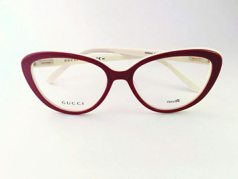 637b8d563204a ... dae0634c051 armação óculos para grau gucci feminino modelo gatinho.  Carregando zoom. ...