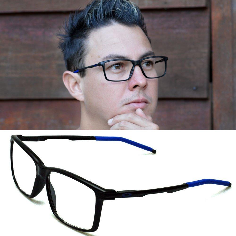 3b6271d63289a armação oculos para grau masculino esporte oakley metal 1035. Carregando  zoom.