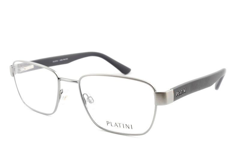 1e0105409aa62 armação óculos para grau masculino platini p9 1176 metal. Carregando zoom.