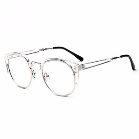 783ce1320 Oculos Grau Redondo Marrom - Óculos Branco no Mercado Livre Brasil
