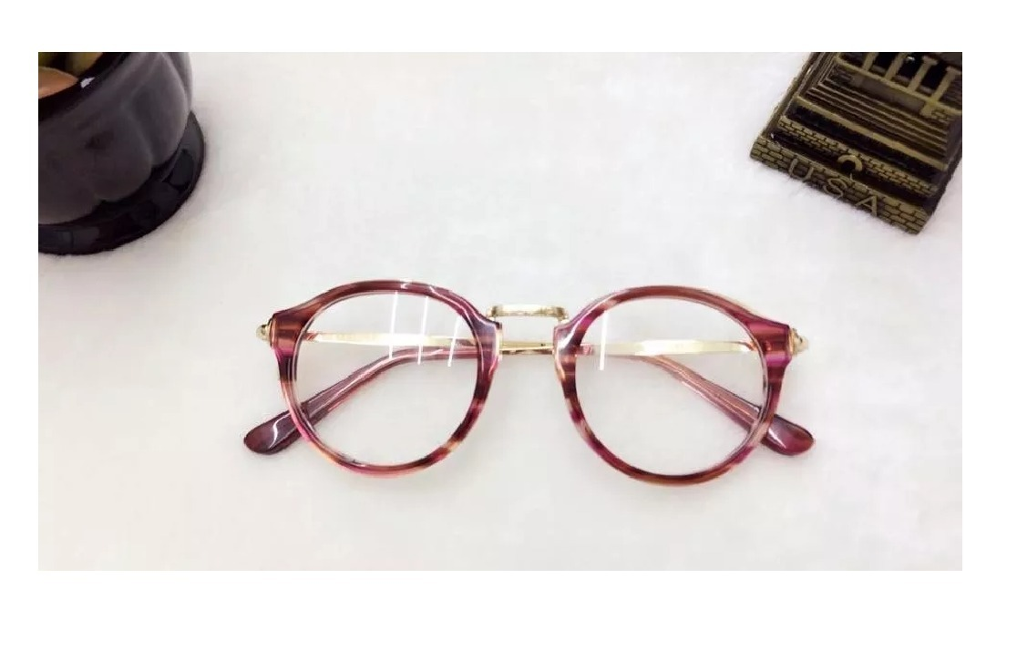 Armação Óculos P grau Fem Redondo Geek G Promoção A008 - R  75,00 em ... e5d93c9cee