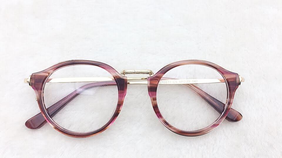 Armação Óculos P grau Feminino Redondo Geek G A008 - R  45,99 em ... cfc9691a1a
