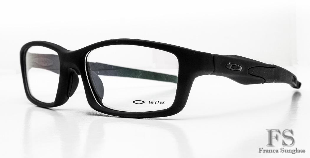 armação óculos p grau oakley crosslink masculino frete gráti. Carregando  zoom. 534bce9aea