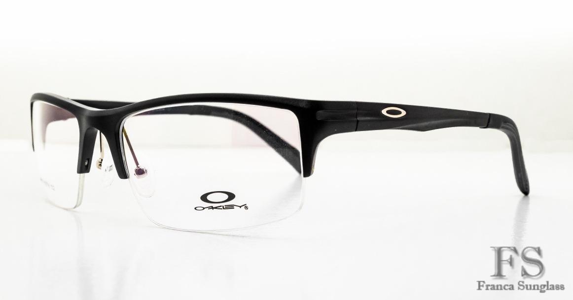 2493adf0edde3 armação óculos p grau oakley fio de nylon masc frete grátis. Carregando  zoom.