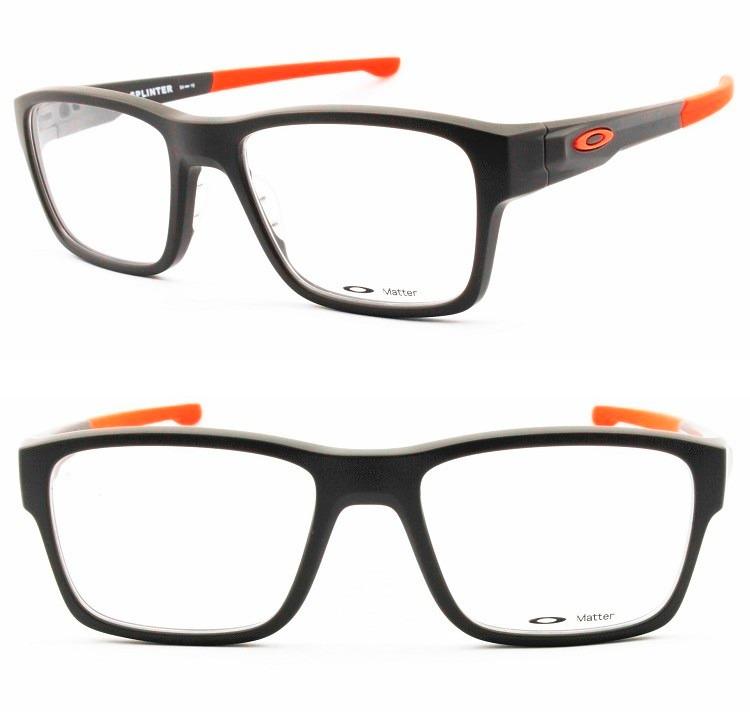 b1a0b7699d3dc Armação Óculos P grau Oakley Splinter Ox8077-0554 Original - R  349 ...