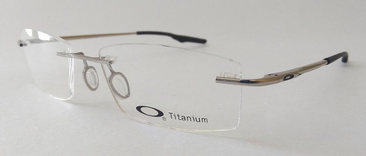 2b883aa07c8dc armação oculos p grau oakley titanium original super leve. Carregando zoom.
