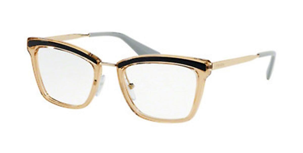 Armação Óculos De Grau Feminino Prada Vpr15u Kof-101 - R  879,00 em ... 365c317d0b