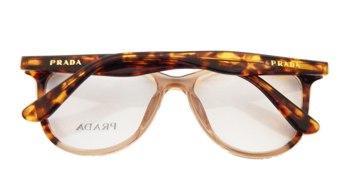 25982676b2cb3 Armação P  Óculos De Grau Prada Pr05 Uv Feminino Original - R  121 ...