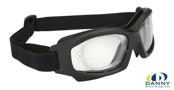 Armação Óculos Proteção Clip Lentes De Grau D-tech Danny - R  120,00 ... 9d5a6614e2