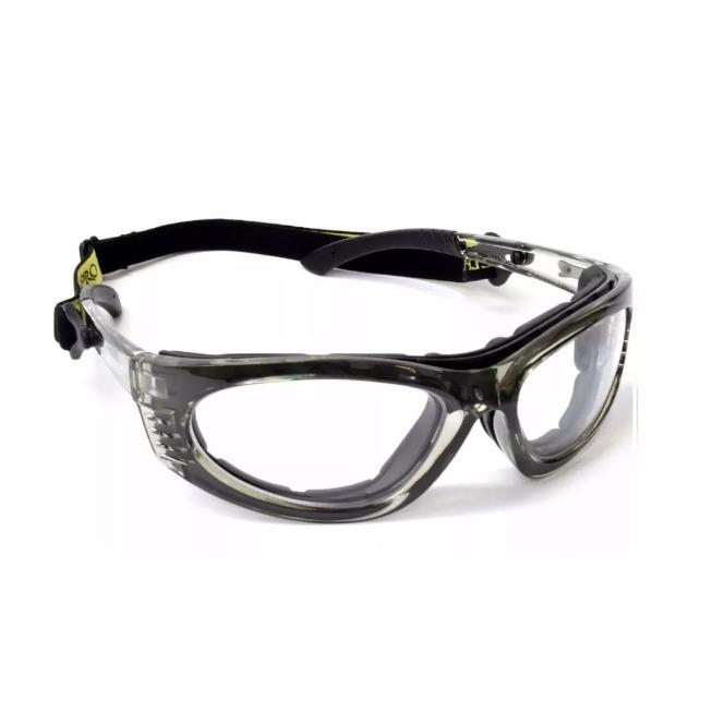 888b9a874fcdb Armação Óculos Proteção Para Lentes De Grau Vicsa Turbine Ca - R  48 ...