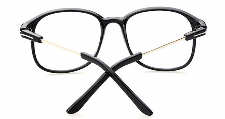Armação Óculos Quadrado Novo Acessório Estética Descanso Cj - R  49 ... 1df8d39bcc