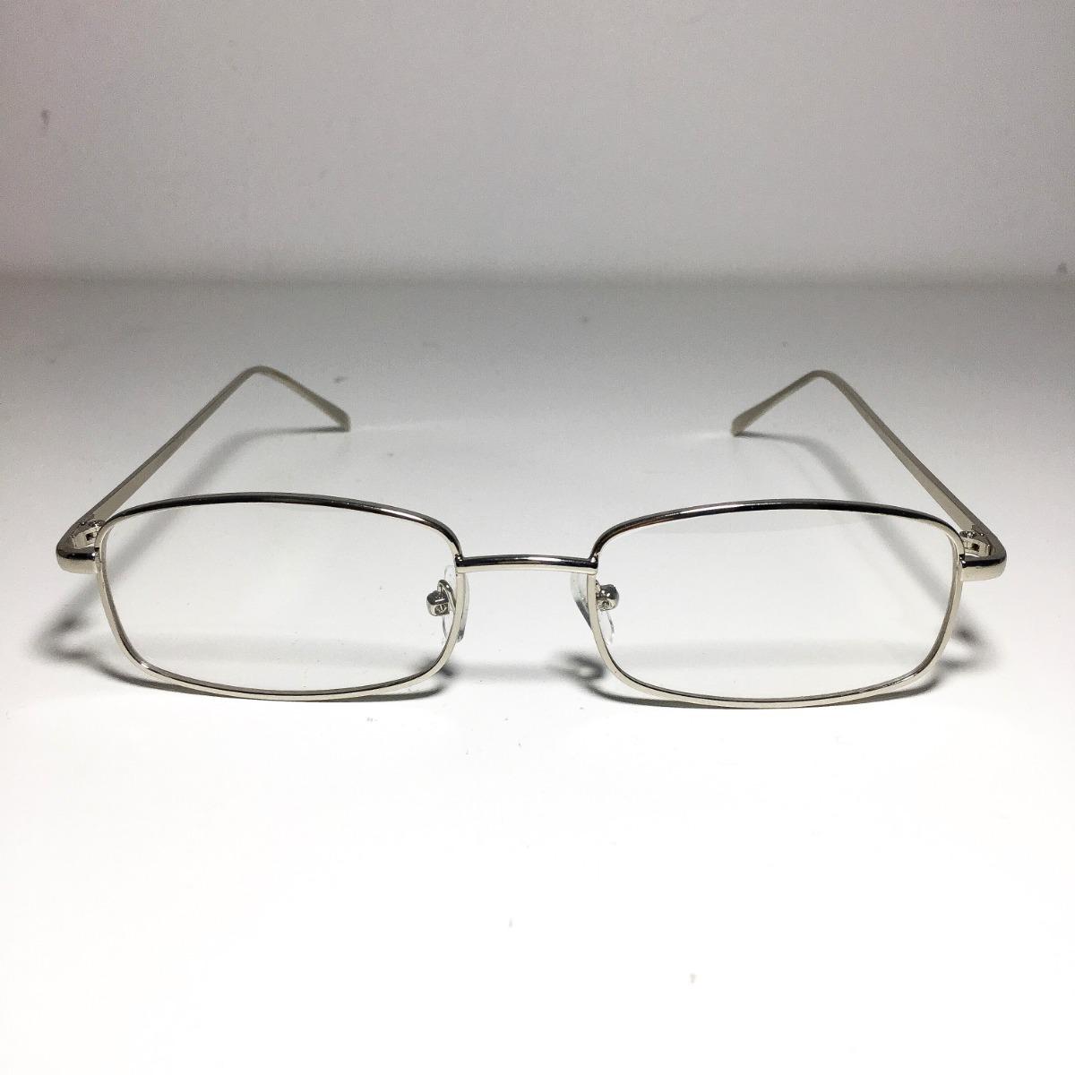 7965c579e1e93 armação óculos quadrado retro vintage anos 90 prata. Carregando zoom.
