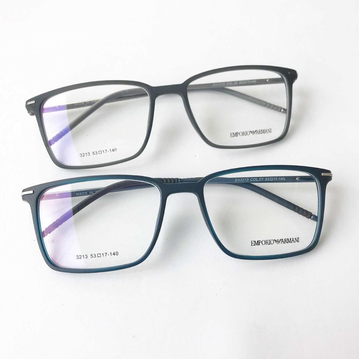 b439057873fe6 Armação Óculos Quadrado Titânio Acetato Masculino - R  120,00 em ...