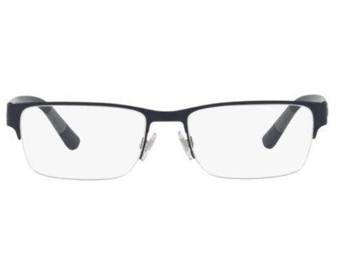 6117bb55ccaaa armação oculos grau polo ralph lauren ph1185 9303 56 azul f · armação  oculos ralph lauren