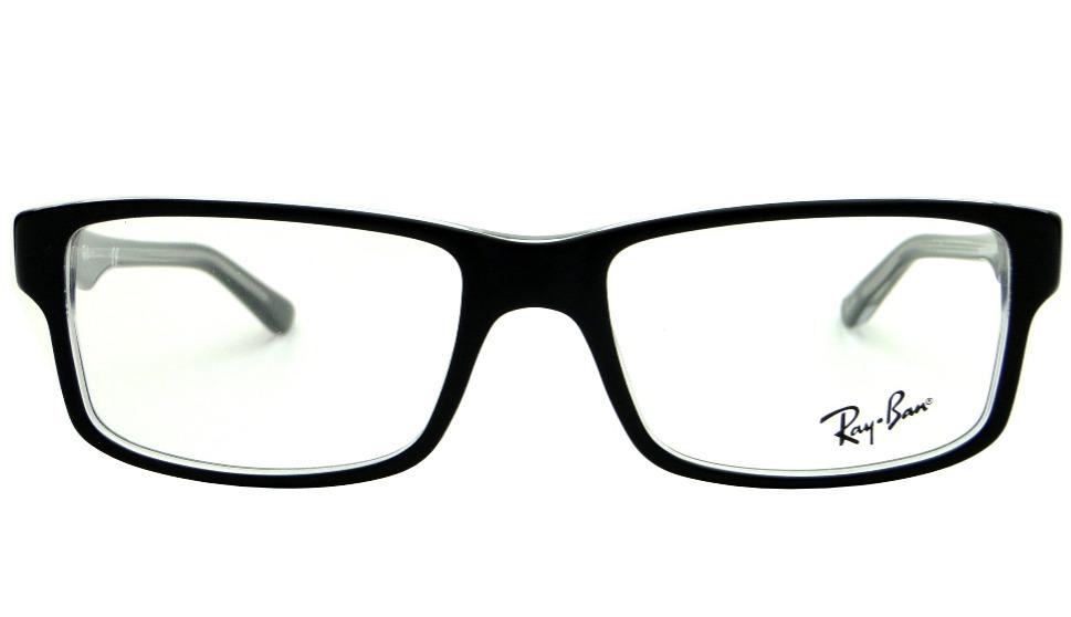 4a8471613987d Armação Para Óculos De Grau Ray Ban Rb 5245 Preta Masculina - R  359 ...