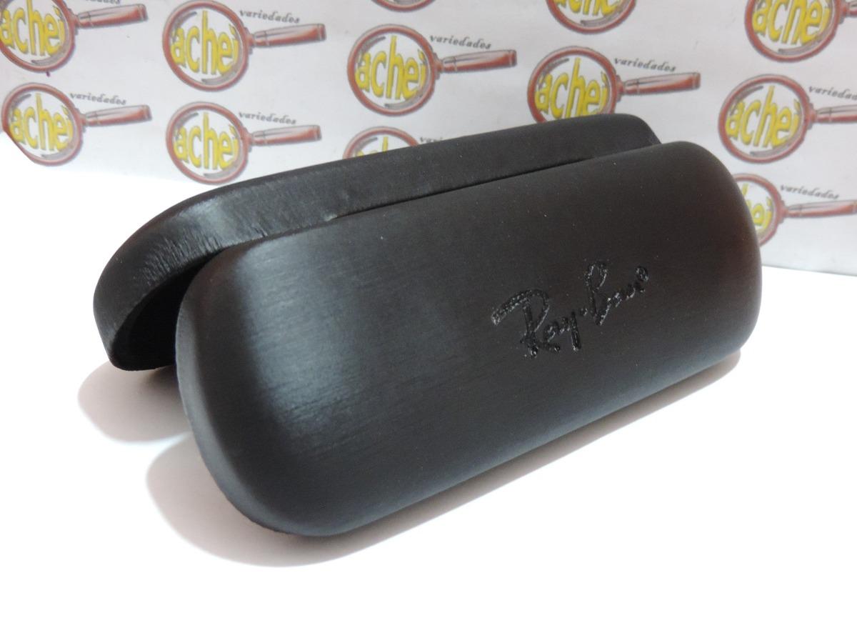 b7f858a7fcebe Caixa Case Rigida Para Armação Oculos Grau Ray-ban - R  15