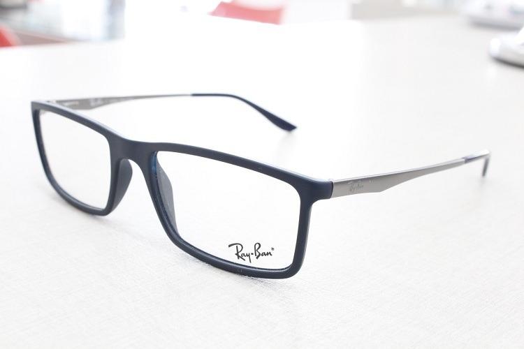 Armação Óculos De Grau Ray-ban Rb 7026l 5412 Original - R  349,00 em ... ec0bf6a99a