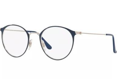 Armação Oculos Grau Ray Ban Rb6378 2906 49 Azul - R  278,90 em ... 125814c210