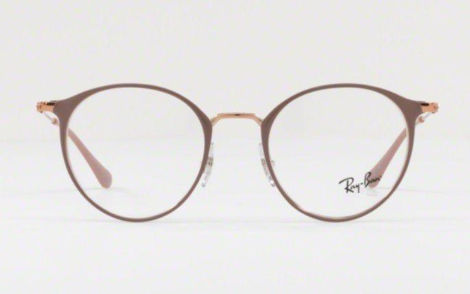 56adeef580864 armação oculos grau ray ban rb6378 2973 49mm marrom claro · armação oculos  ray ban