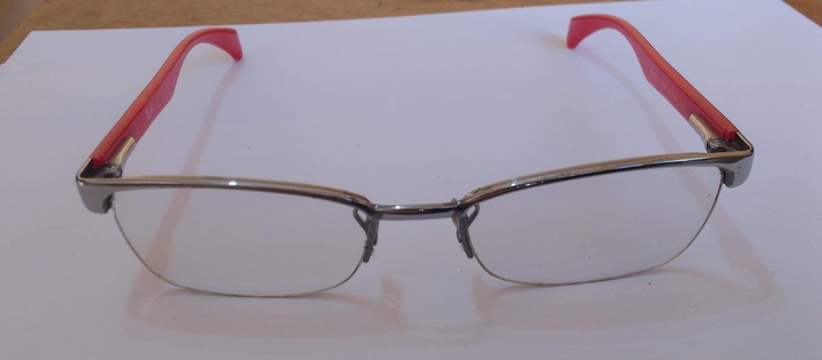 Armação Óculos Ray Ban Color Barato Seminovo - R  130,00 em Mercado ... e4a9b500a1