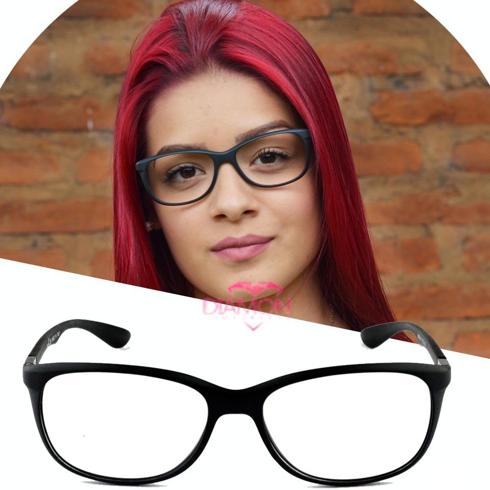 3e071ff0b3679 armação oculos rayban feminino sem grau geek lançamento. Carregando zoom.
