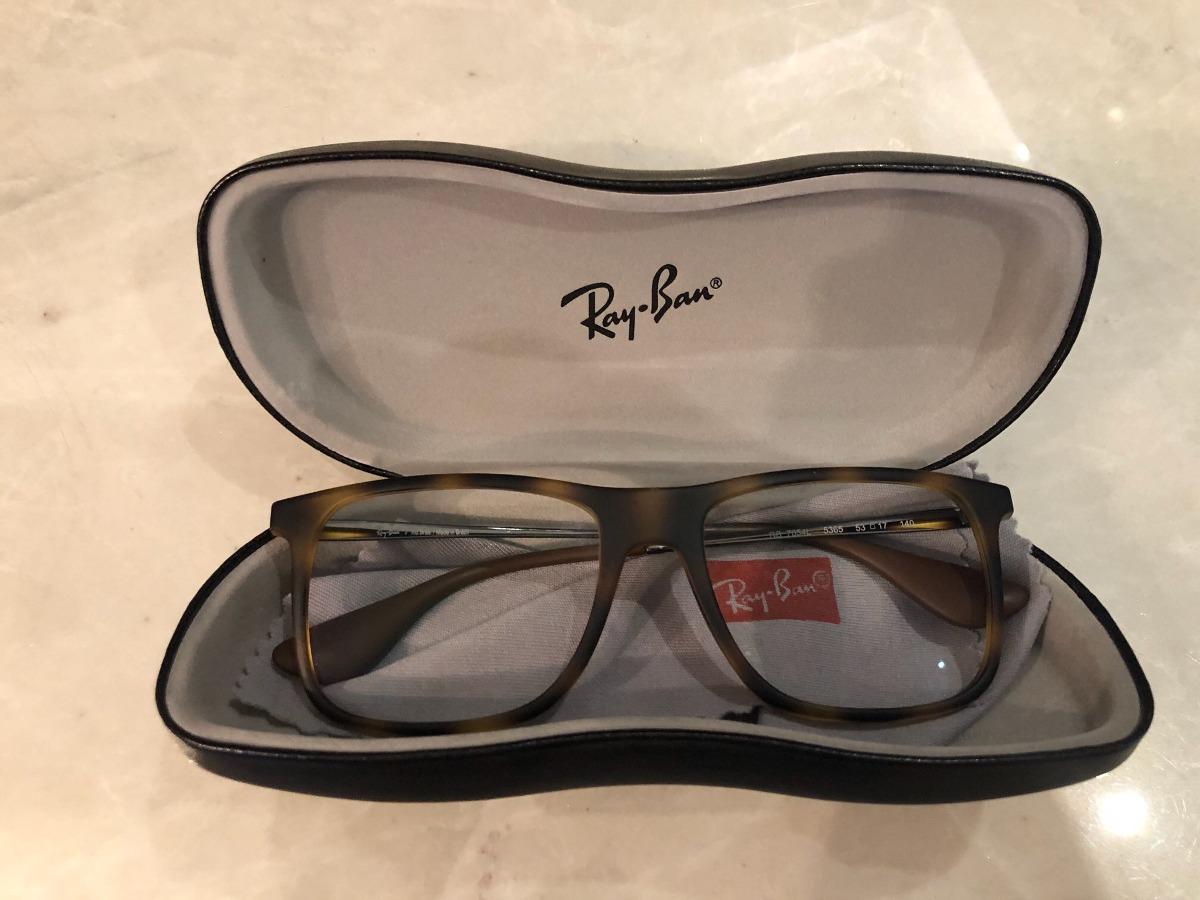 Armação Óculos Rayban Tartaruga Original - R  250,00 em Mercado Livre 43f303d529