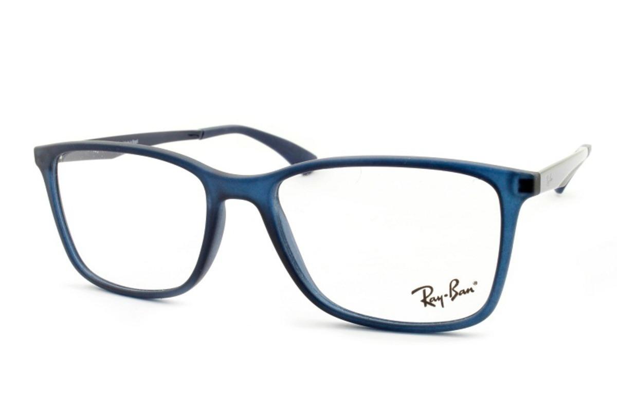 2d28d6c2258b1 armação óculos rb2075 + 2 clipons masculino e feminino. Carregando zoom.