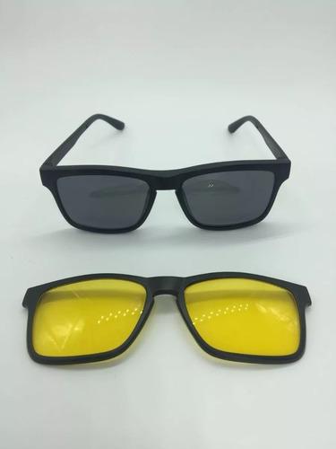 db010071c9819 Armação Óculos Rb2075 + 2 Clipons Masculino E Feminino - R  109
