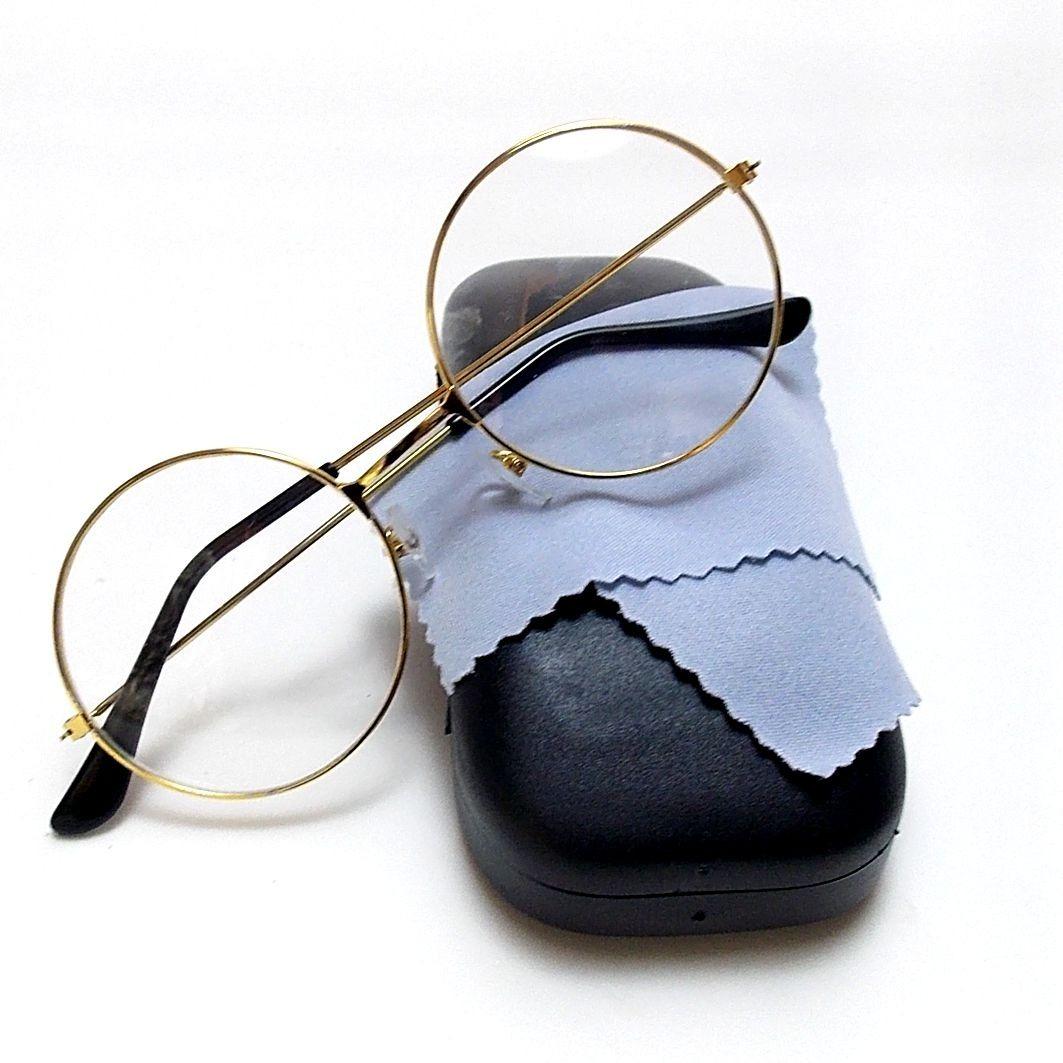 5b0a39cf9ad73 armação óculos redondo estilo john lennon retrô 2. Carregando zoom.