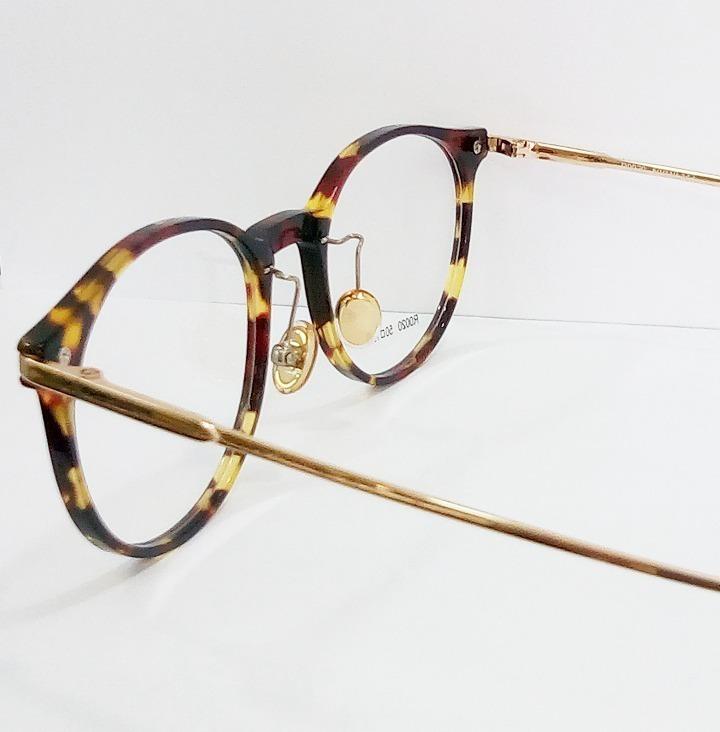 bc71ee46acbc2 Armação Óculos Redondo Feminino Menor Preço - R  75,82 em Mercado Livre