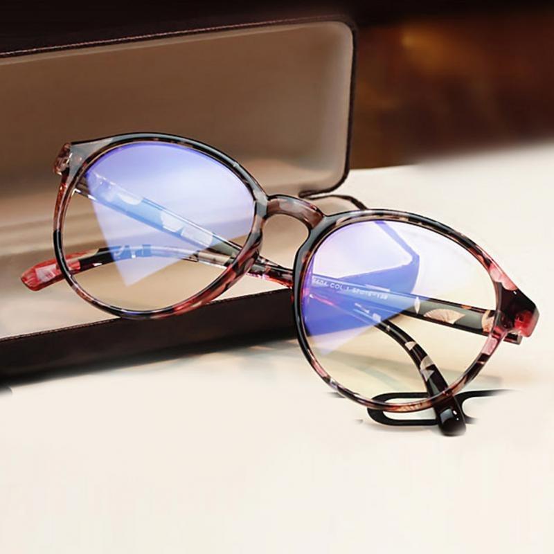 6b3d984b1 armação óculos redondo floral feminino geek vintage acetato. Carregando  zoom.
