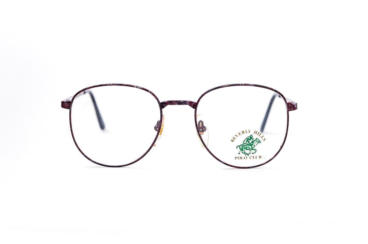6fbe92d6ae7ba armação óculos redondo masculino medio retro pólo - vermelho. Carregando  zoom.