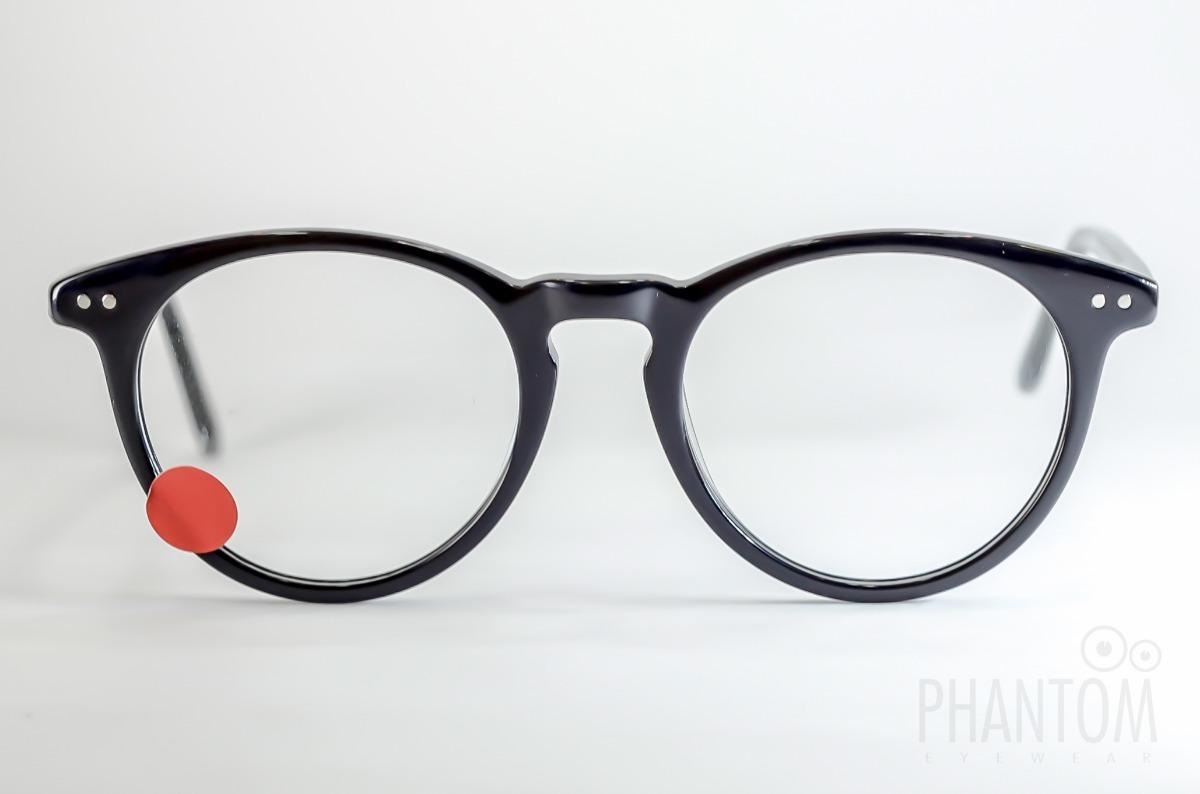 1fa8ff5d4daa7 armação óculos redondo preto feminino masculino qualidade. Carregando zoom.
